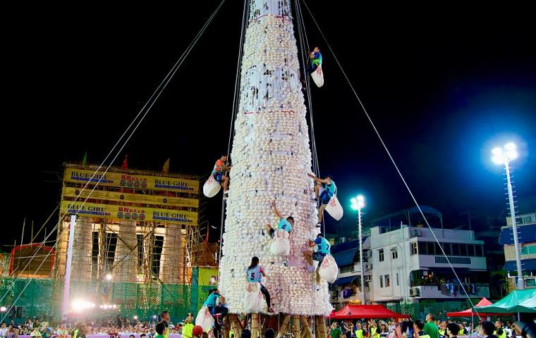 長洲島饅頭祭り