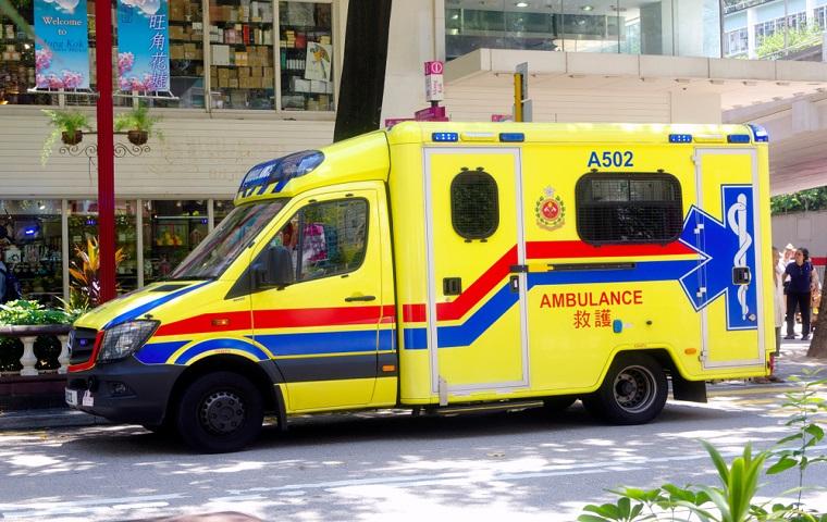 香港の救急車