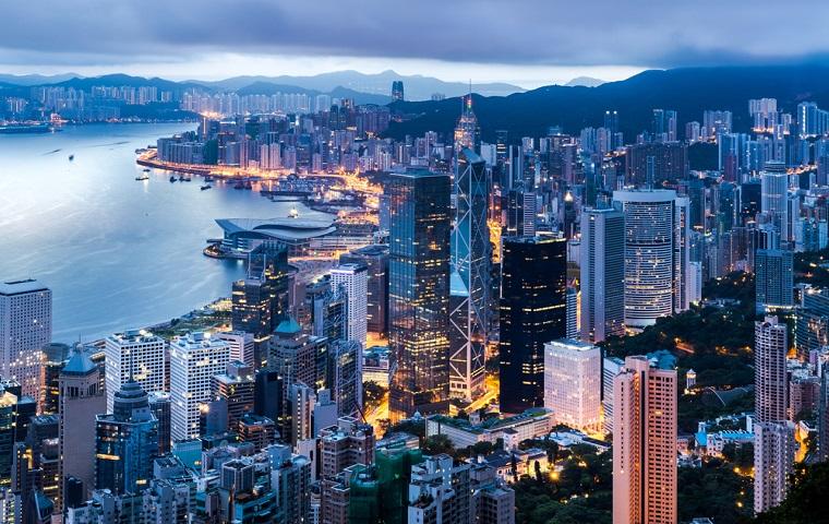 香港の人口密度