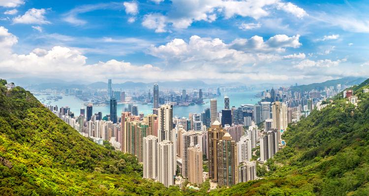 香港の都市