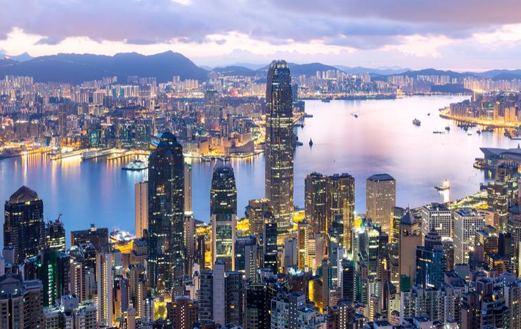 香港の朝方