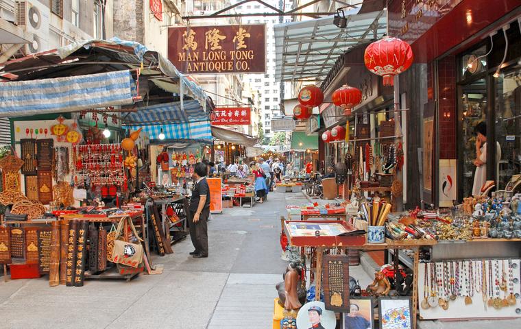 香港の通り